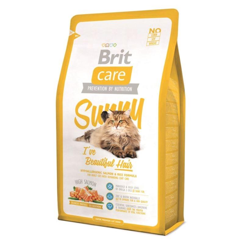 Brit Care Cat Sunny Beautiful Hair, 7 kg imagine