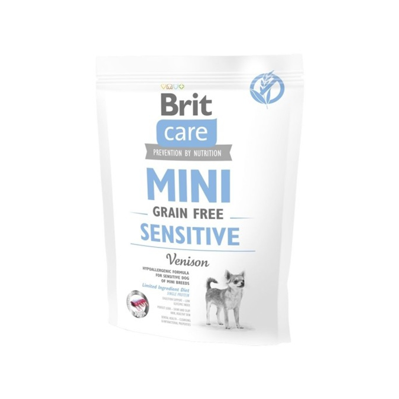 Brit Care Mini Grain Free Sensitive, 400 g imagine