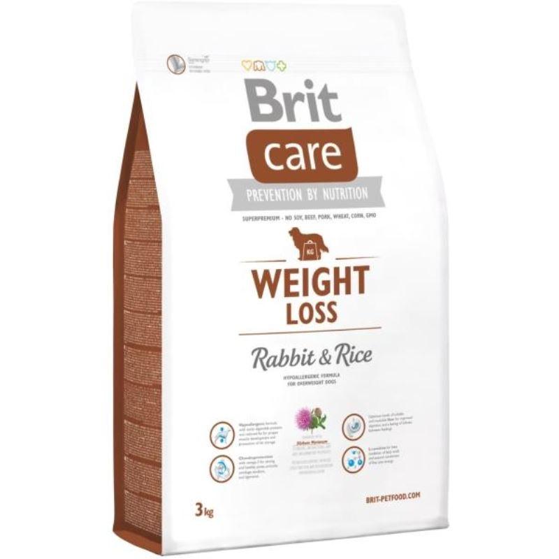 Brit Care Weight Loss Rabbit & Rice, 3 kg imagine