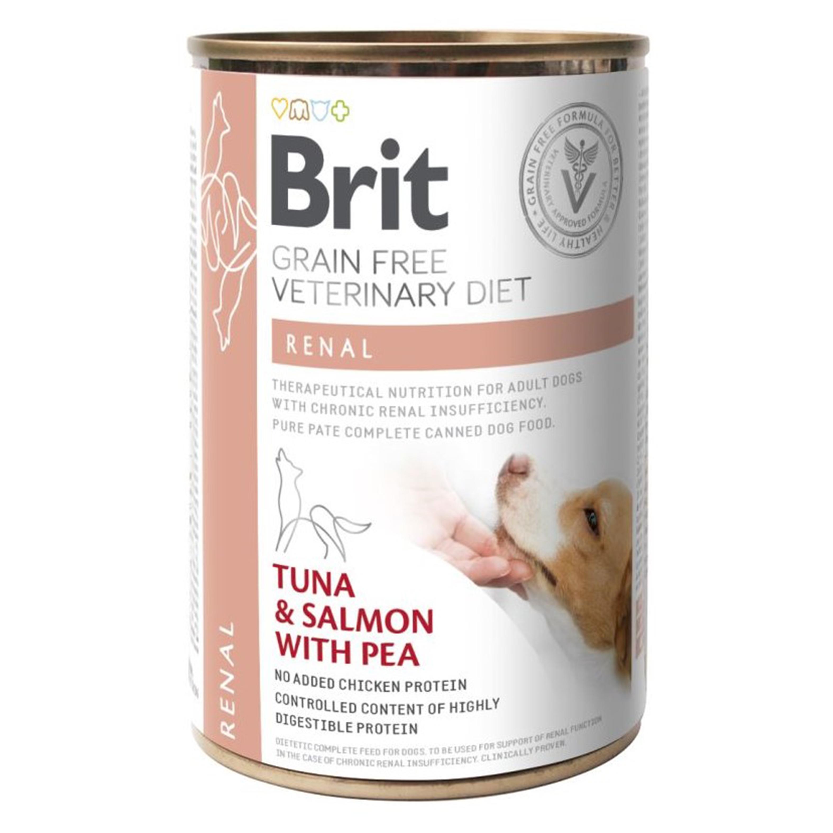 Brit GF Veterinary Diets Dog Renal, 400 g imagine