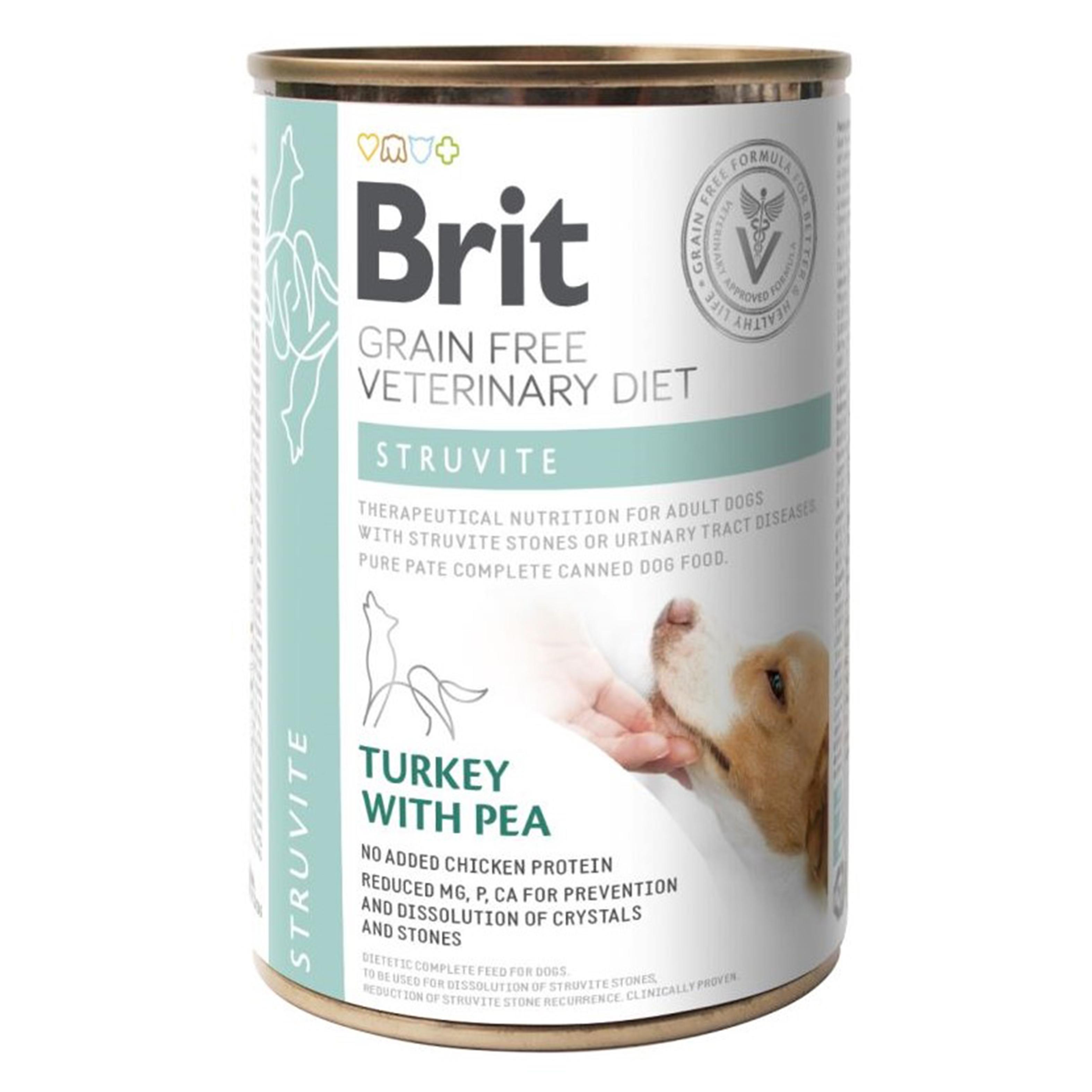 Brit GF Veterinary Diets Dog Struvite, 400 g imagine