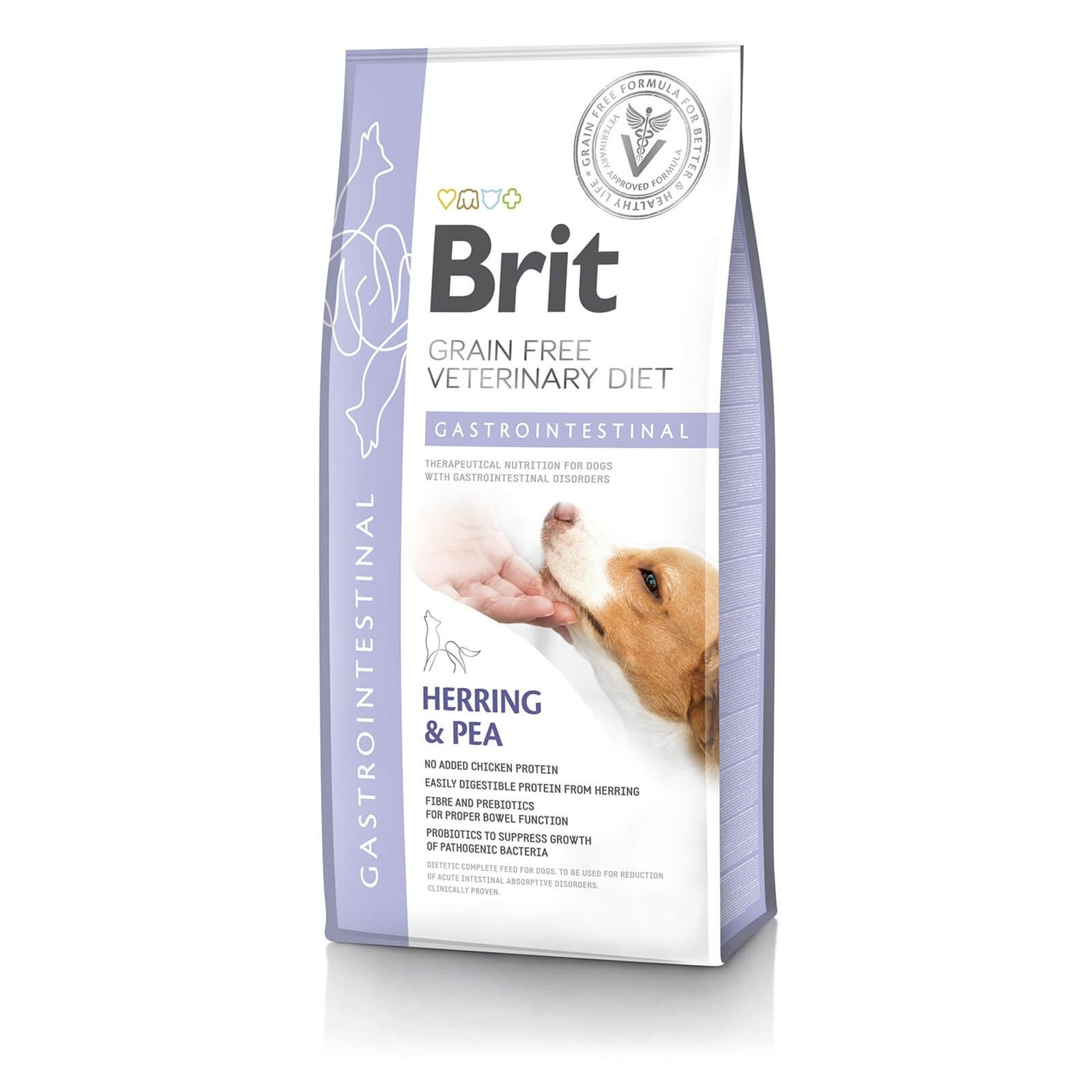 Brit Grain Free Veterinary Diets Dog Gastrointestinal, 2 kg imagine