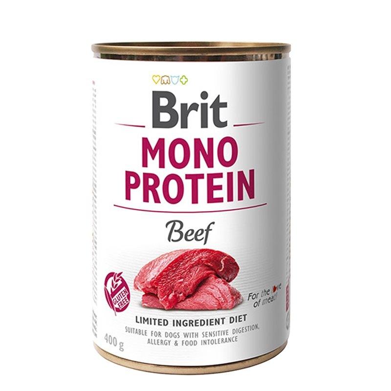Brit Mono Protein Beef, 400 g imagine