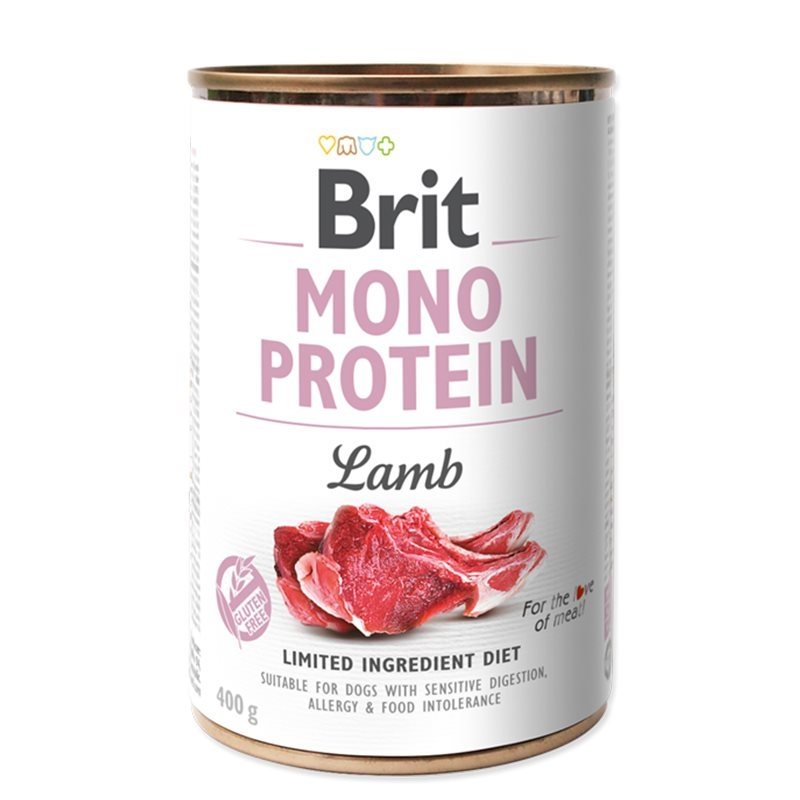 Brit Mono Protein Lamb, 400 g imagine
