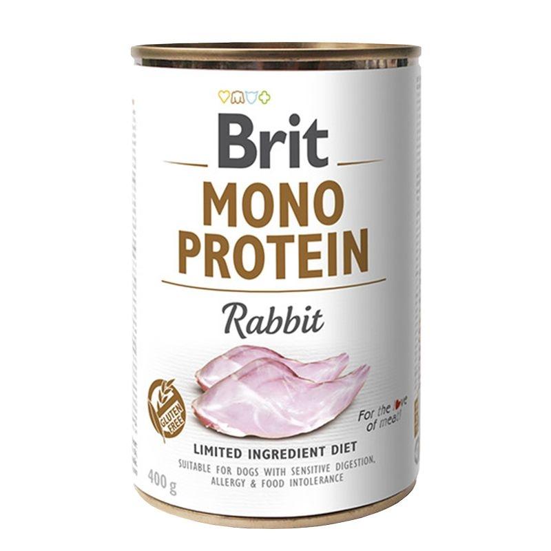 Brit Mono Protein Rabbit, 400 g imagine
