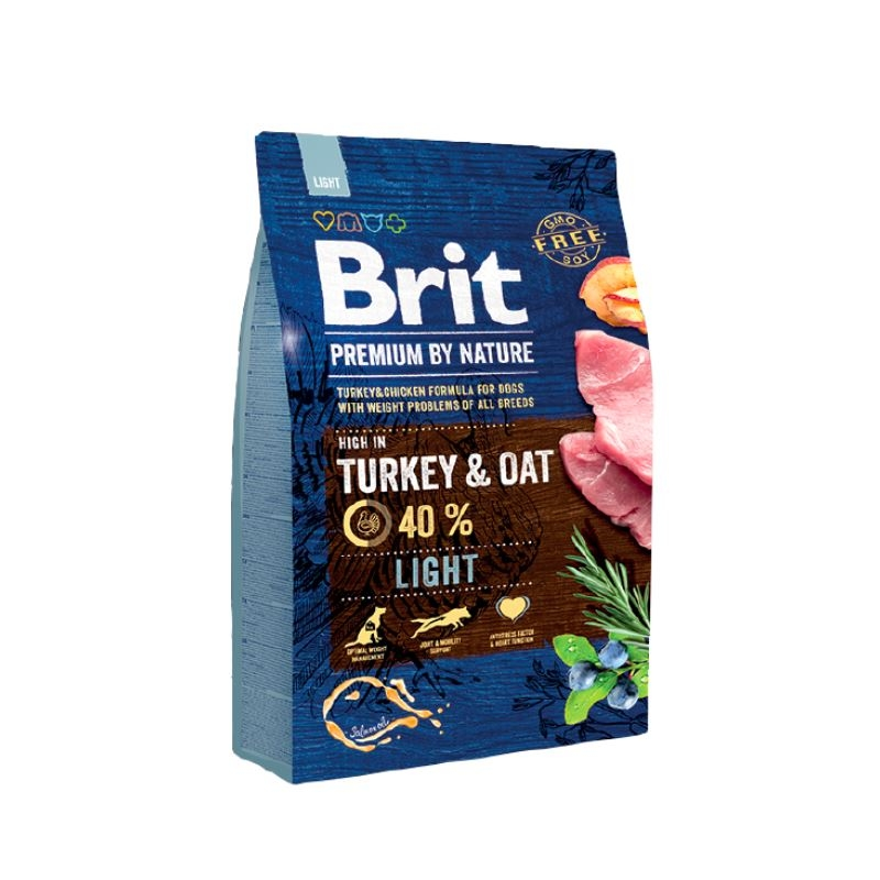 Brit Premium by Nature Adult Light, 3 kg imagine