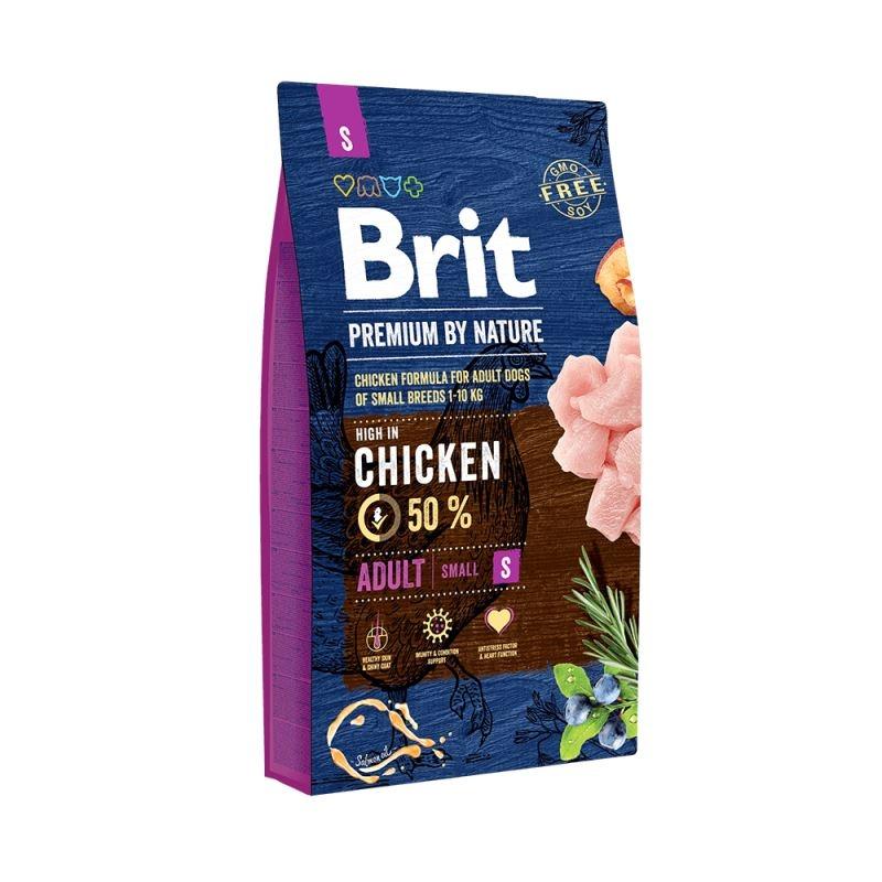 Brit Premium by Nature Adult Small, 8 kg imagine
