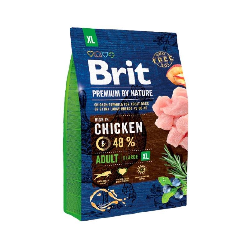 Brit Premium by Nature Adult XL, 3 kg imagine