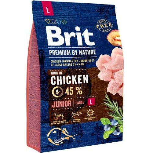 Brit Premium By Nature Junior L, 3 kg imagine