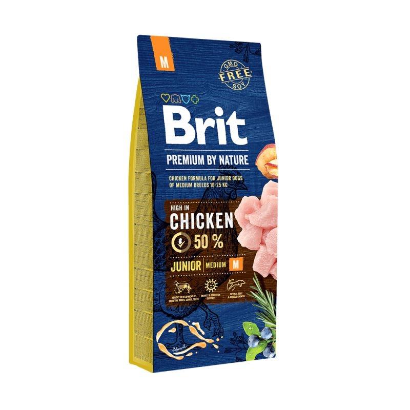 Brit Premium by Nature Junior Medium, 3 kg imagine