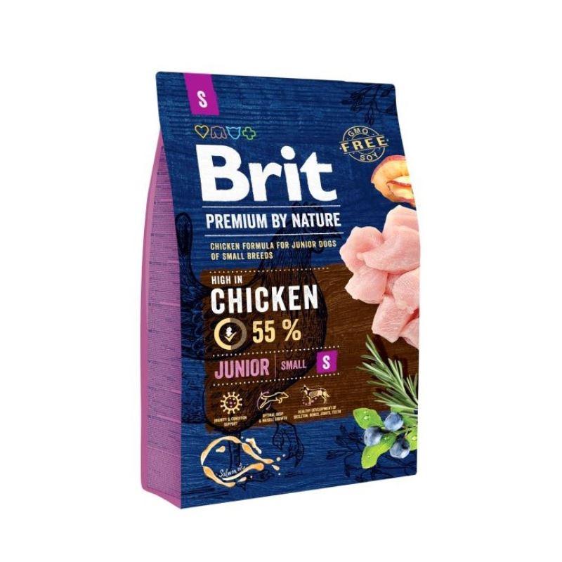 Brit Premium by Nature Junior Small, 8 kg imagine