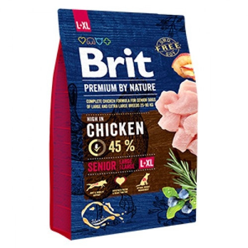 Brit Premium by Nature Senior L plus XL, 3 kg imagine