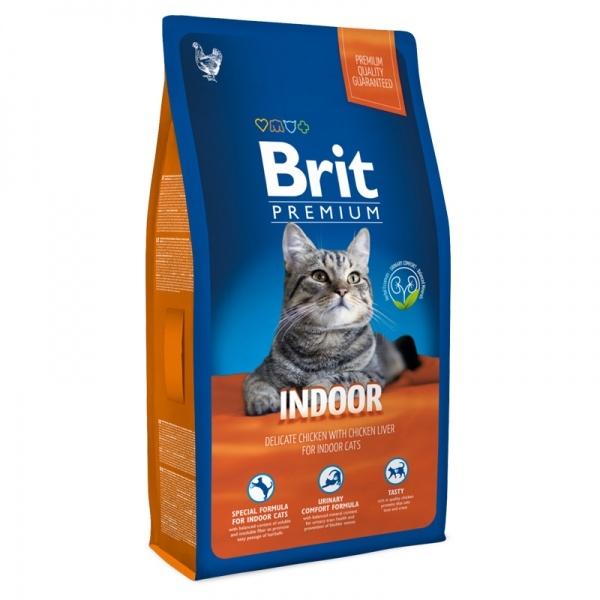 Brit Premium Cat Indoor, 1.5 kg imagine