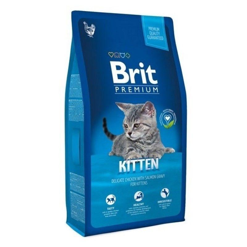 Brit Premium Cat Kitten, 1.5 kg imagine