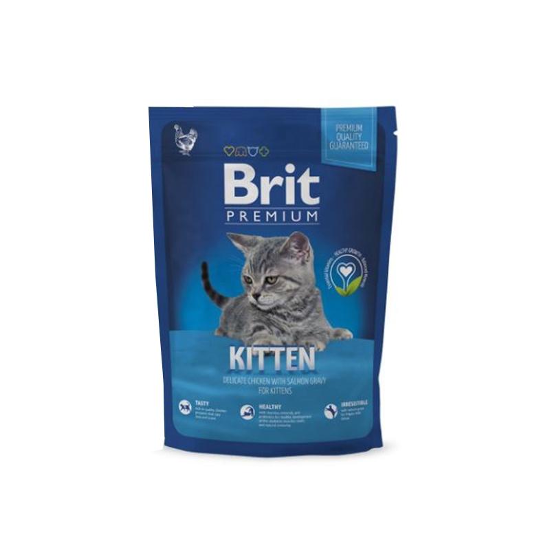 Brit Premium Cat Kitten, 800 g imagine