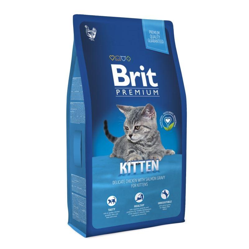 Brit Premium Cat Kitten, 8 kg imagine