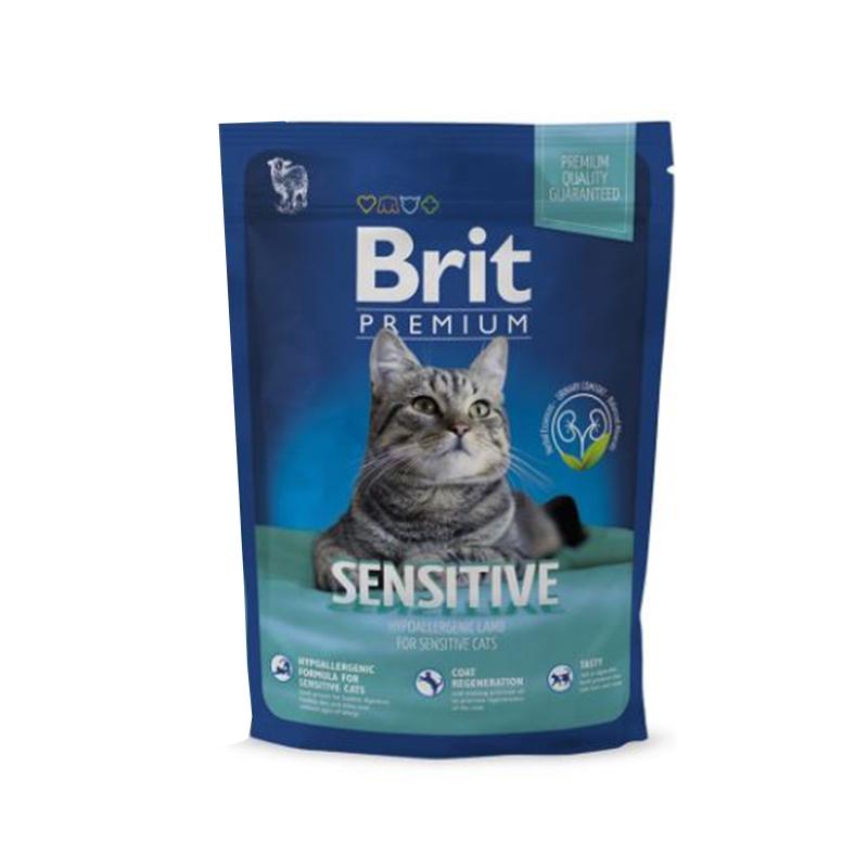 Brit Premium Cat Sensitive, 300 g imagine