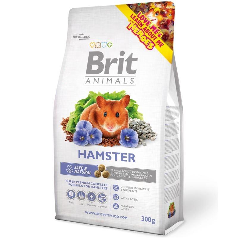 Brit Premium Hamster, 300 g imagine
