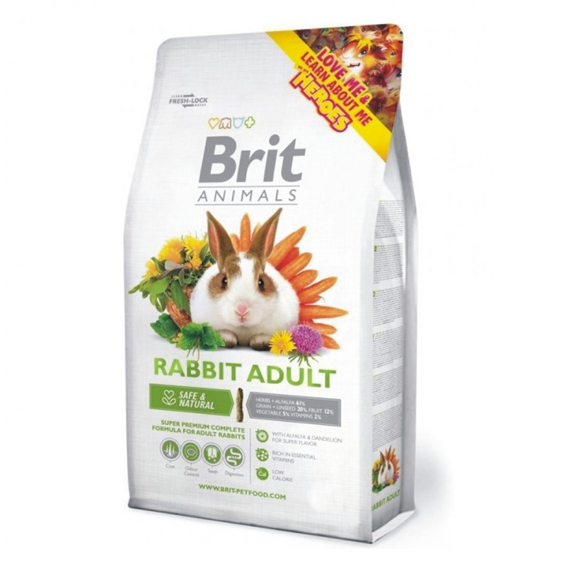 Brit Animals Iepure adult 300g imagine