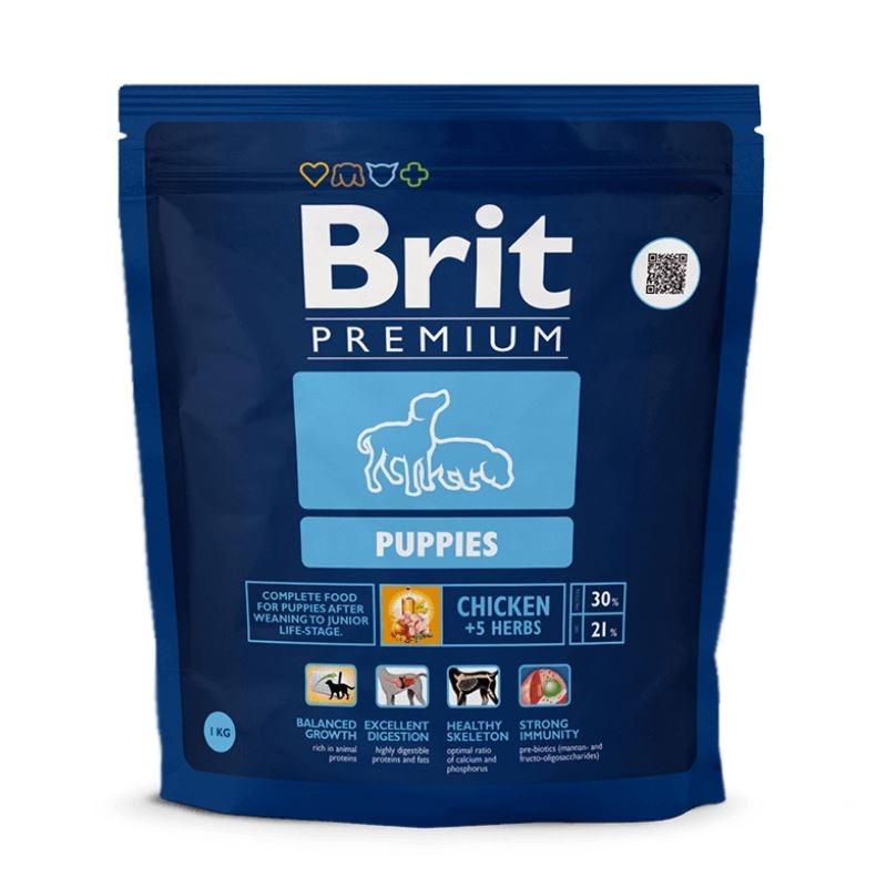 Brit Premium Puppies, 1 Kg imagine