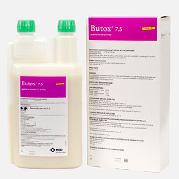Butox 7.5% flc.x 1l POUR ON imagine