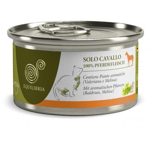EQUILIBRIA Cat - 100% carne de CAL - conserva 85 g imagine