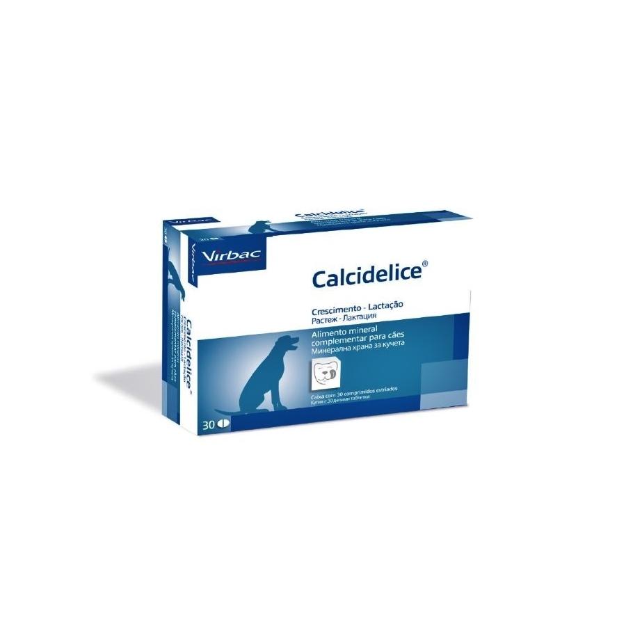 Calcidelice, 30 comprimate imagine