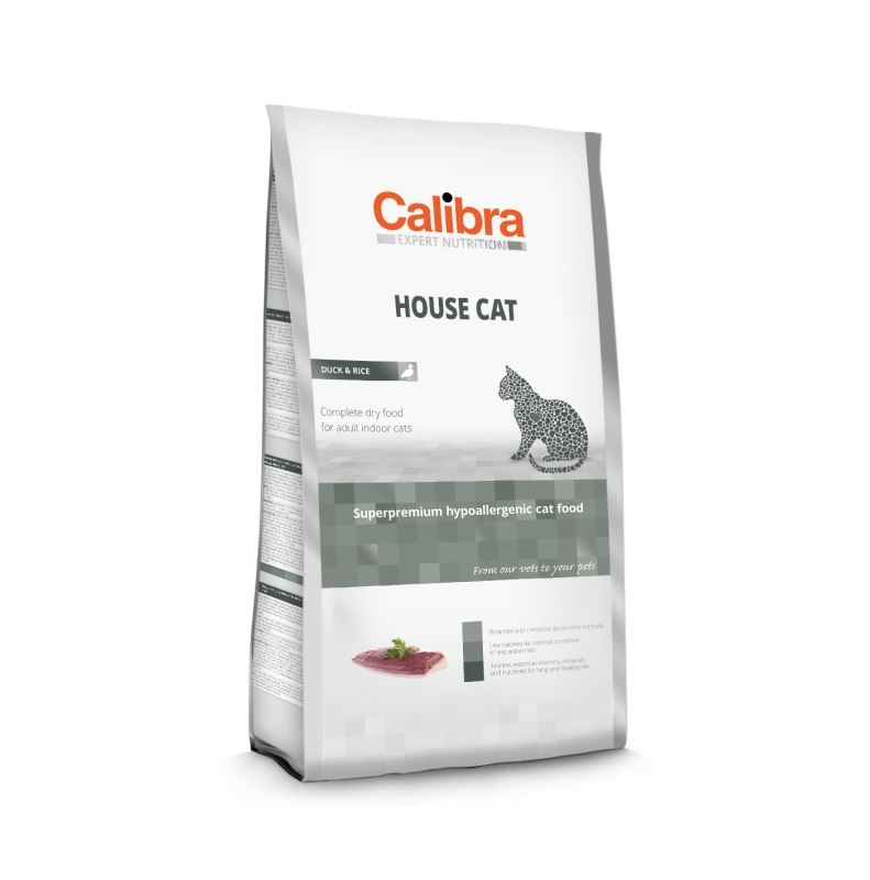 Calibra Cat House Chicken and Duck, 2 kg imagine