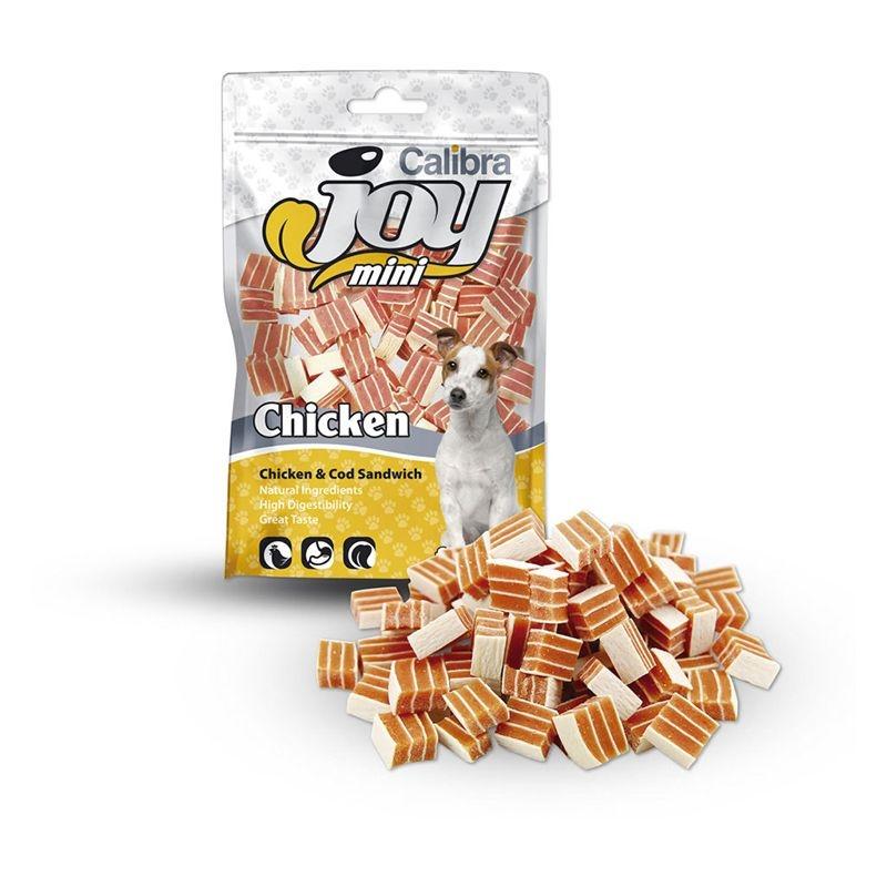 Calibra Joy Dog Classic Mini Chicken & Cod Sandwich, 70 g imagine