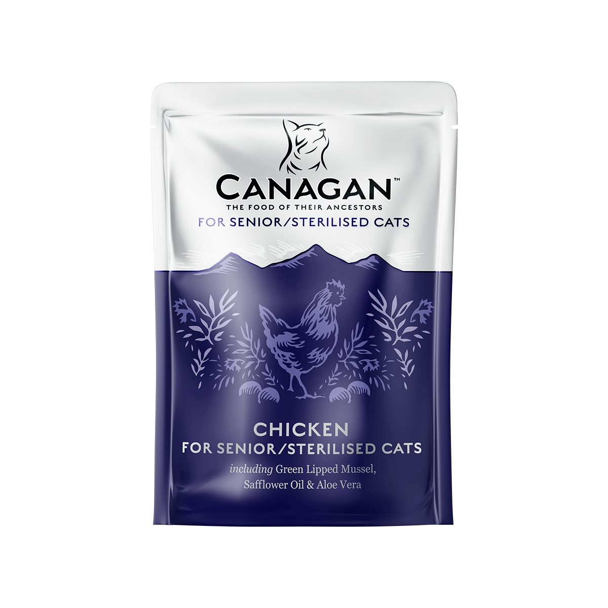 Canagan Senior Sterilised, Pui, 85 g imagine