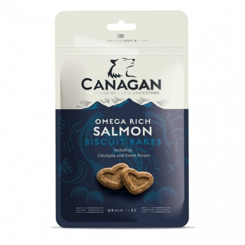 Canagan Grain Free, biscuiti caini, cu somon, 150 g imagine