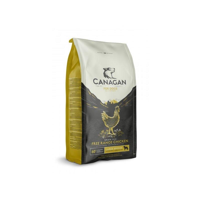 Canagan Grain Free cu Pui, 2 kg imagine