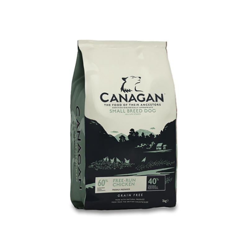 Canagan Grain Free Small Breed cu Pui, 500 g imagine