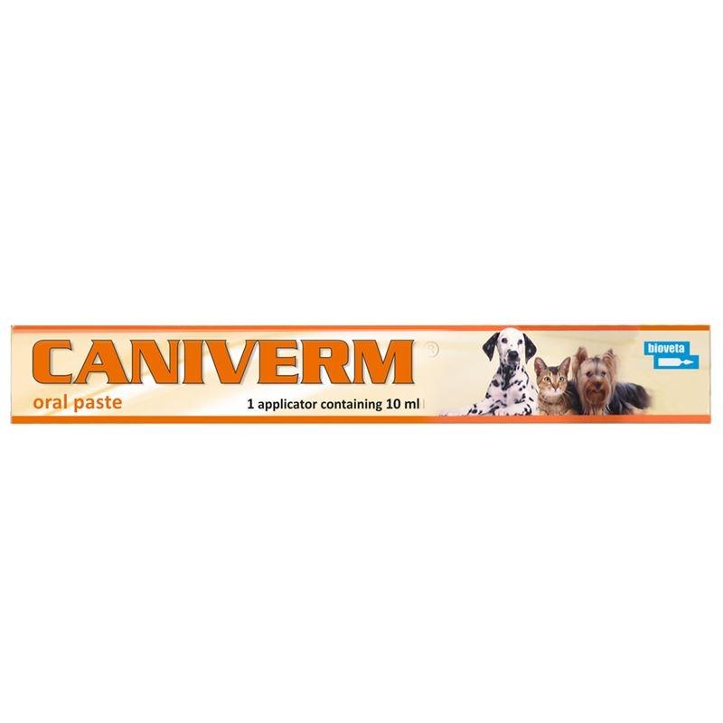 Caniverm pasta orala, seringa, 10 ml imagine