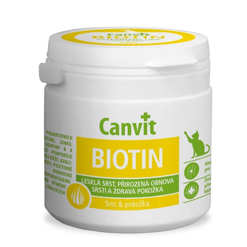 Canvit Biotin for Cats, 100 g imagine