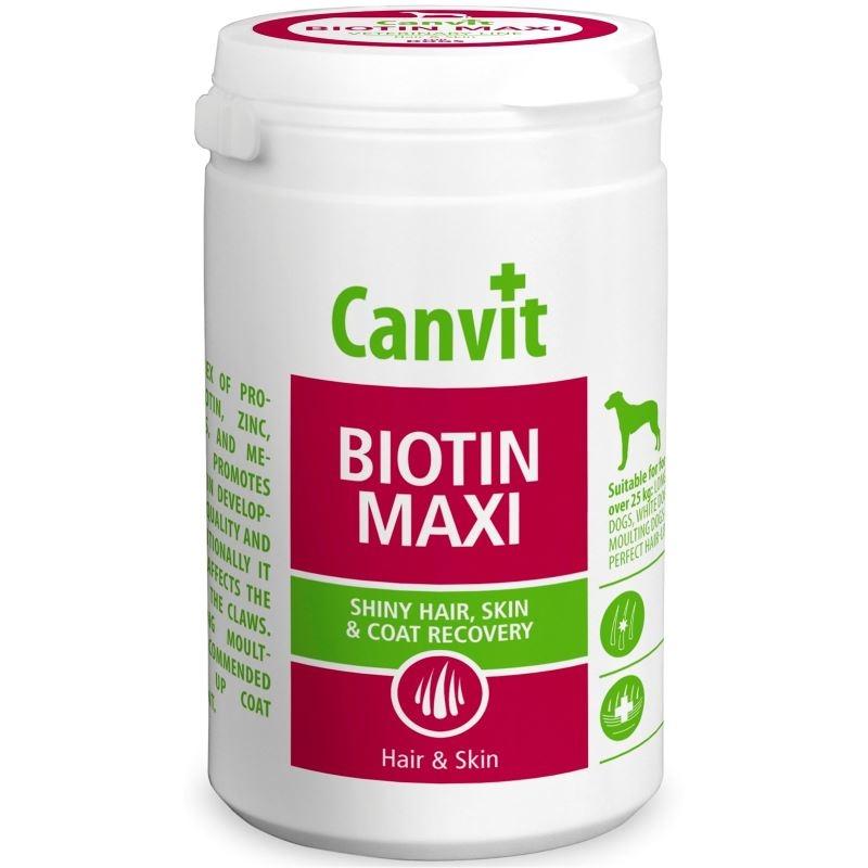 Canvit Biotin Maxi for Dogs, 500 g imagine