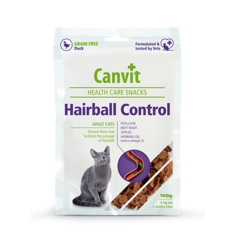 Canvit Health Care Hairball Snack, 100 G