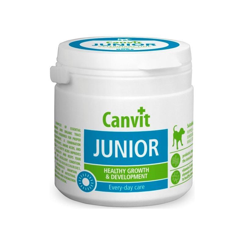 Canvit Junior for Dogs, 100 g imagine