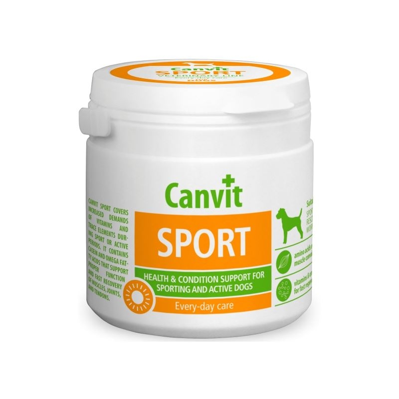 Canvit Sport for Dogs, 230 g imagine