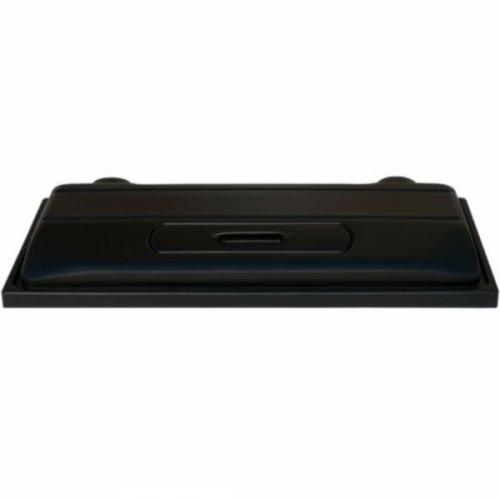 Capac acvariu, Diversa, negru, 80 cm imagine
