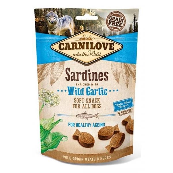 Carnilove Dog Semi Moist Sardines with Wild Garlic, 200 g imagine