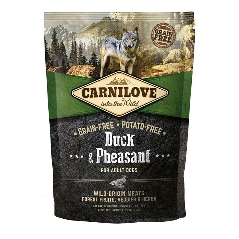Carnilove Duck and Pheasant for Adult, 1.5 kg imagine