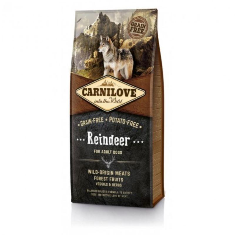 Carnilove Reindeer for Adult, 12 kg imagine