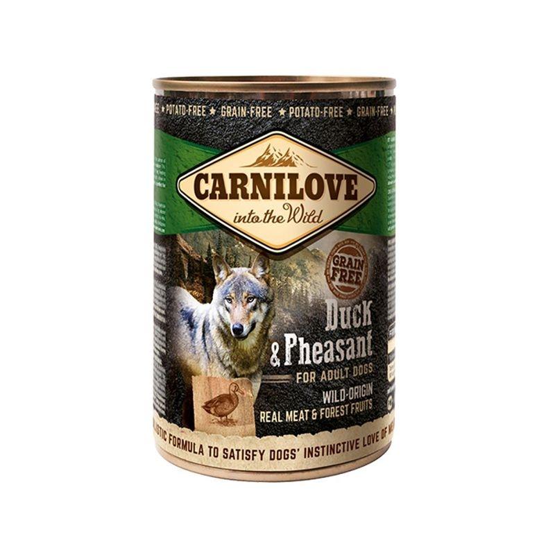 Carnilove Dog Wild Meat, Duck & Pheasant, 400 g imagine