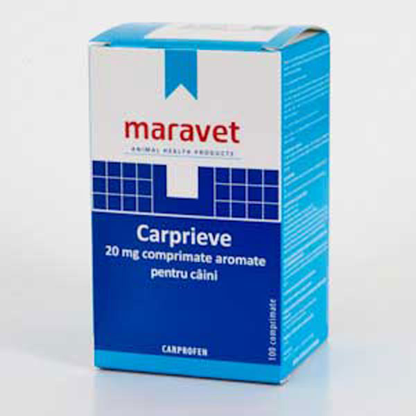 Carprieve Flavoured 20 mg 10 tab imagine