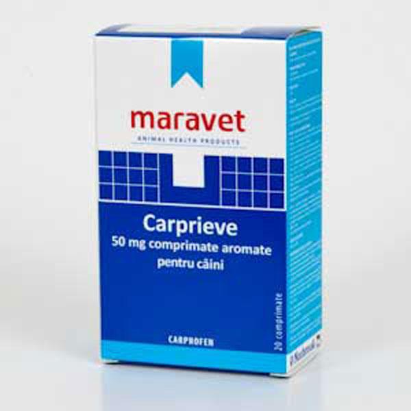 Carprieve Flavoured 50 mg 20 tab imagine