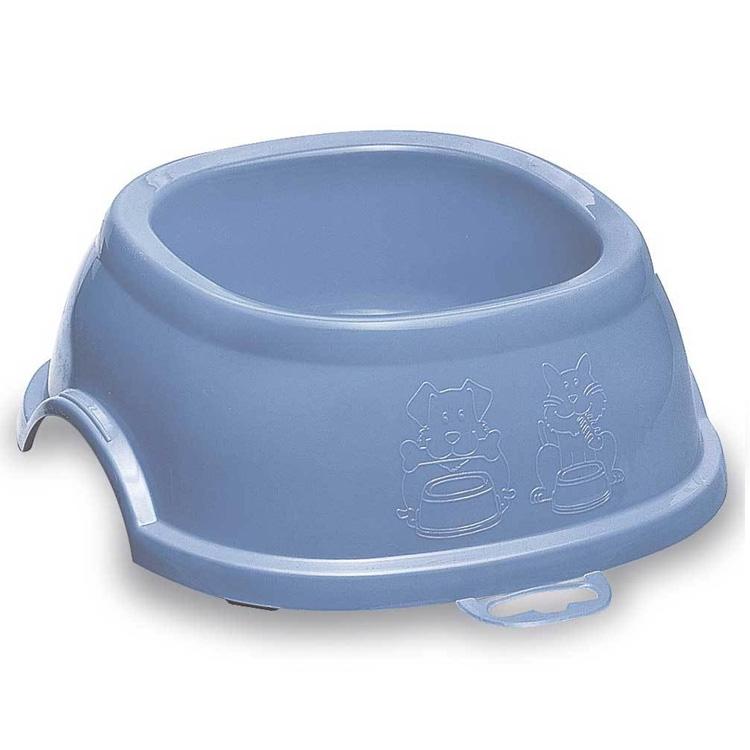 Castron plastic, Stefanplast Break 2, bleu, 0.6L imagine