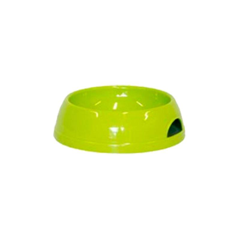 Castron plastic caine, verde, 0.47 l imagine