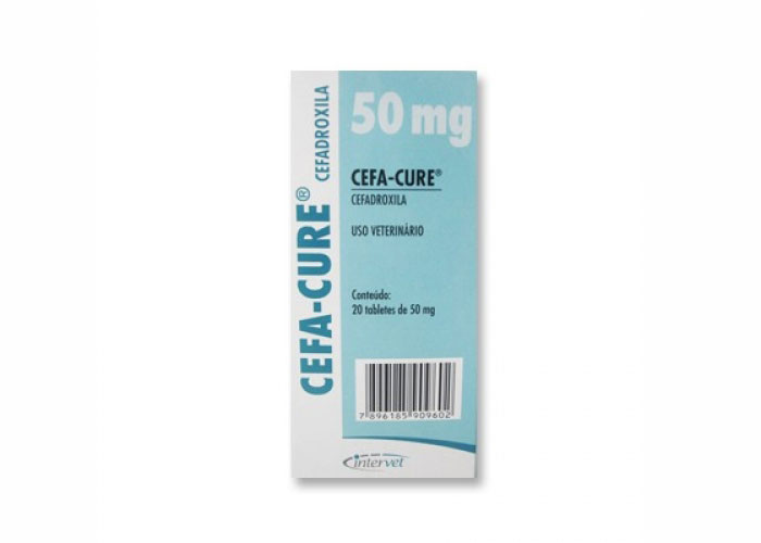 Cefa-Cure 50 mg 20 tablete imagine