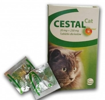 Cestal Cat Chew 8 tablete masticabile imagine